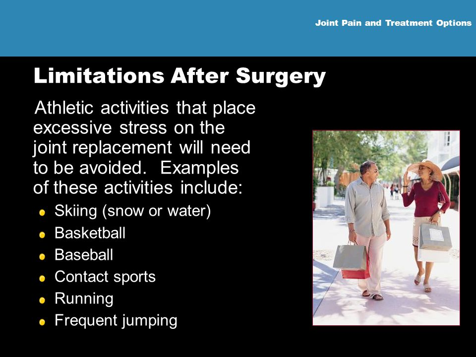 Limitations After Surgery
