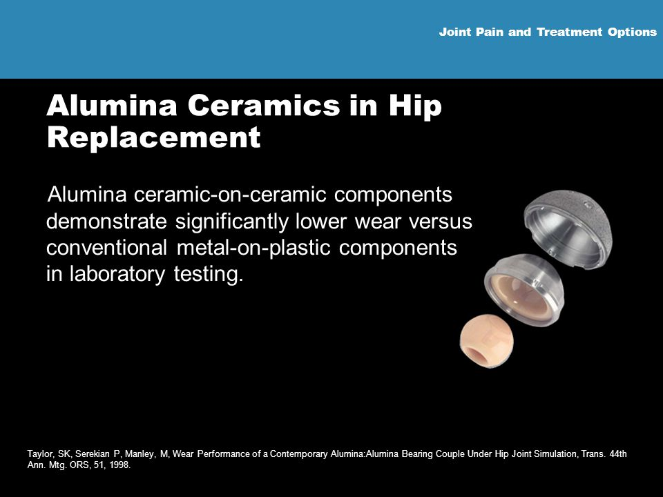 Alumina Ceramics in Hip Replacement
