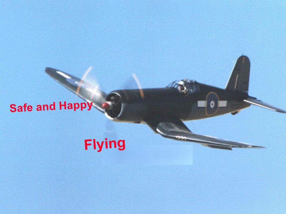 Safe and Happy Flying