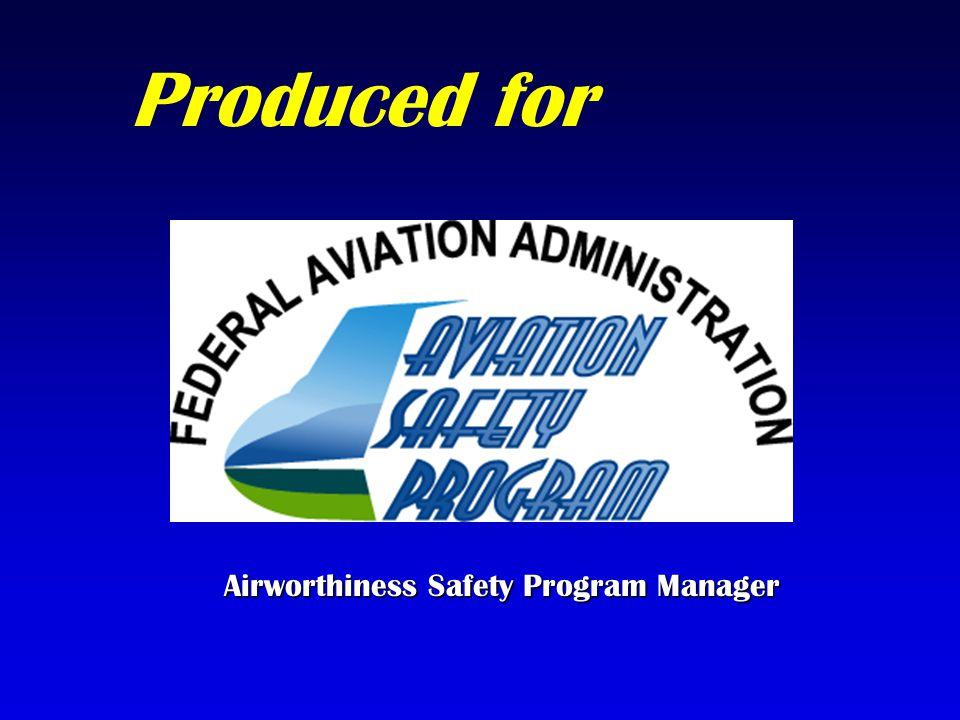 Airworthiness Safety Program Manager
