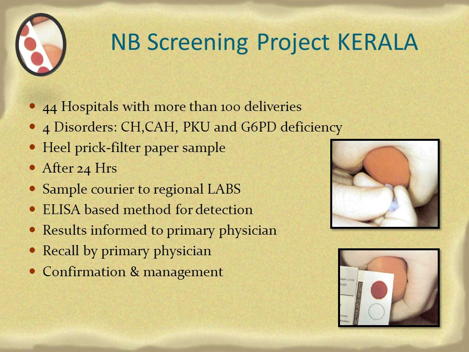 NB Screening Project KERALA