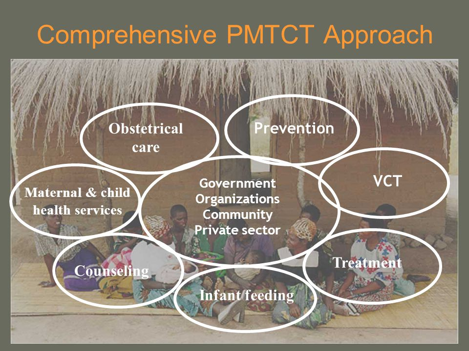 Comprehensive PMTCT Approach