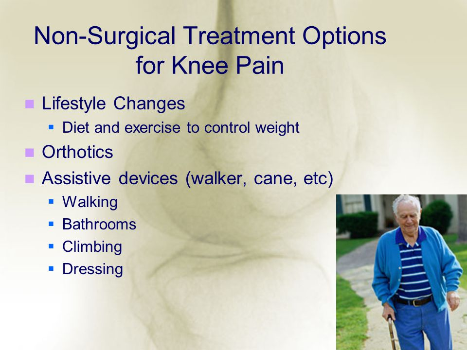 Non-Surgical Treatment Options for Knee Pain
