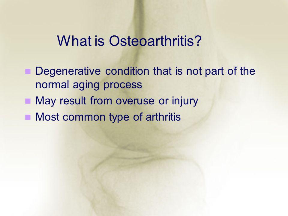 What is Osteoarthritis