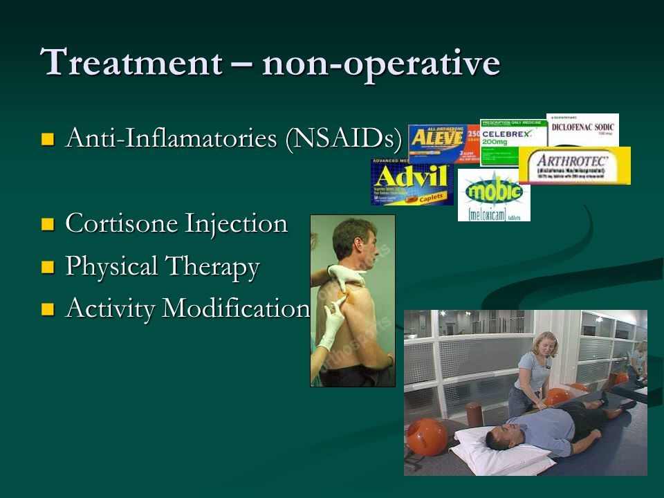 Treatment – non-operative