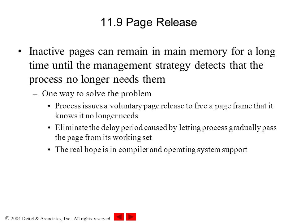 11.9 Page Release