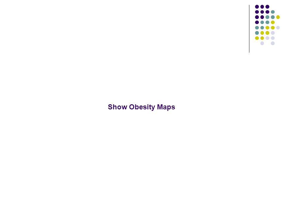 Show Obesity Maps