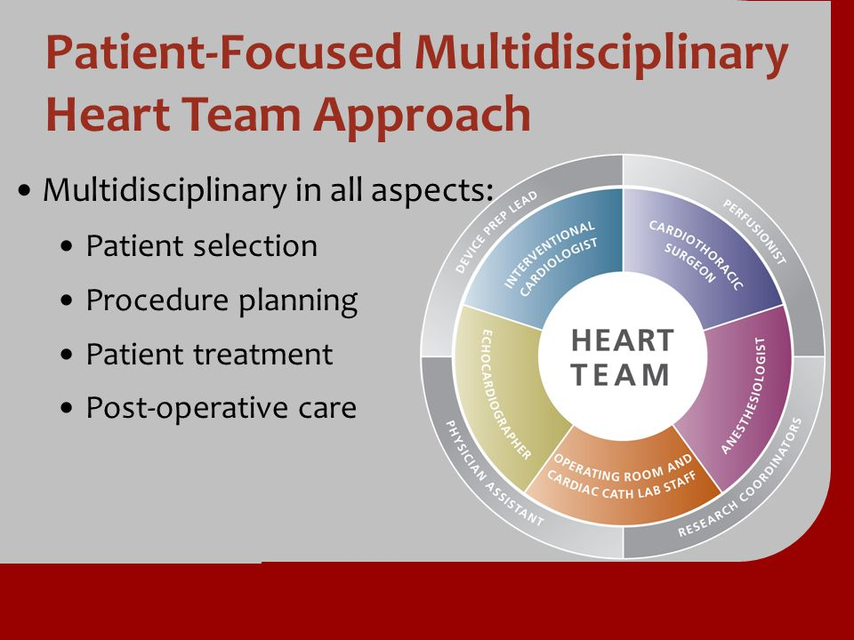 Patient-Focused Multidisciplinary Heart Team Approach