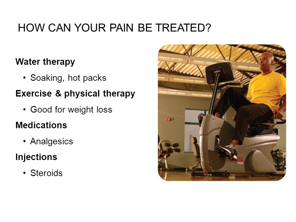 How can your pain be treated