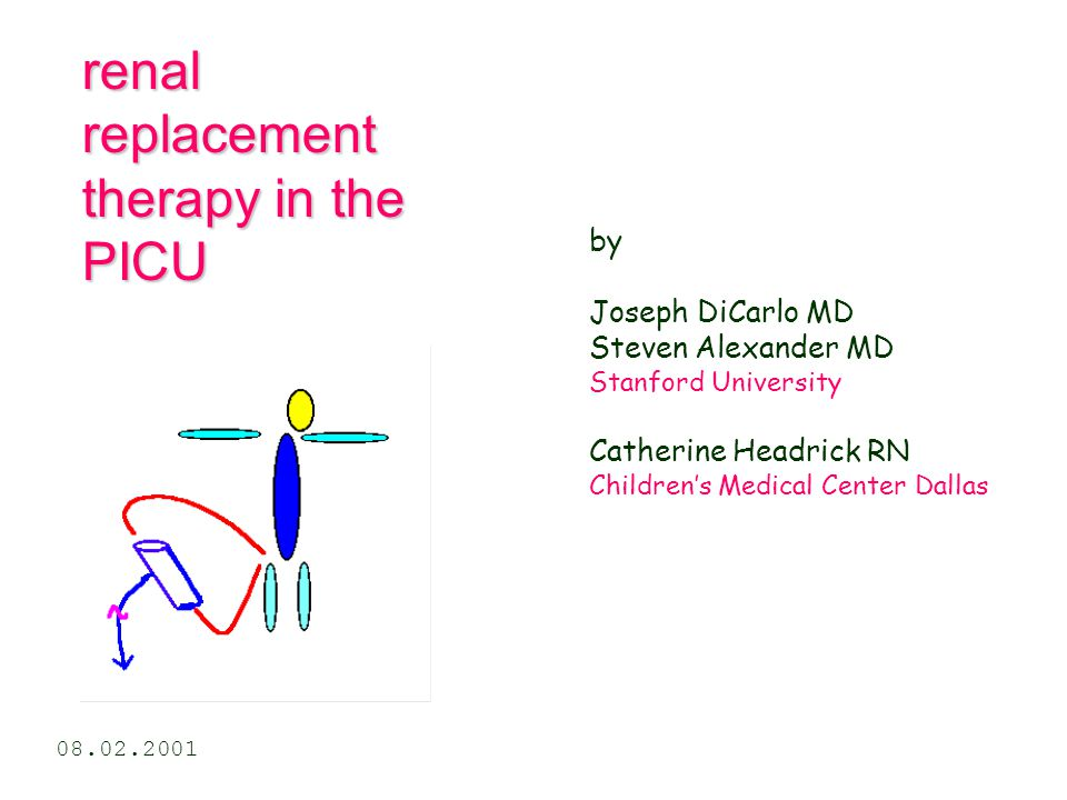 renal replacement therapy in the PICU
