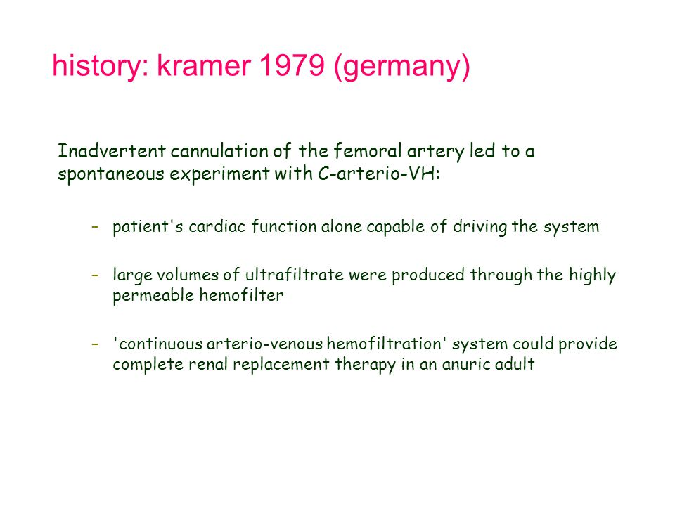 history: kramer 1979 (germany)