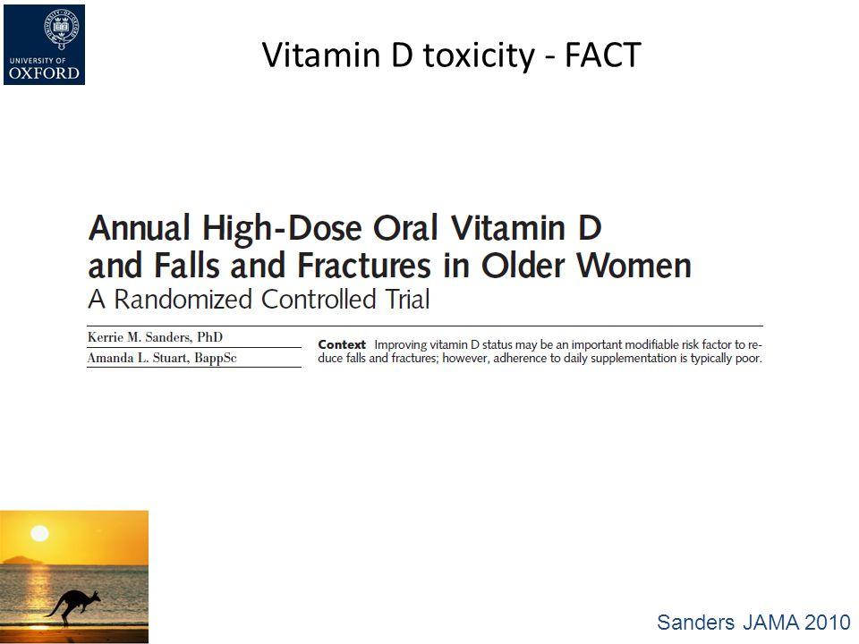 Vitamin D toxicity - FACT