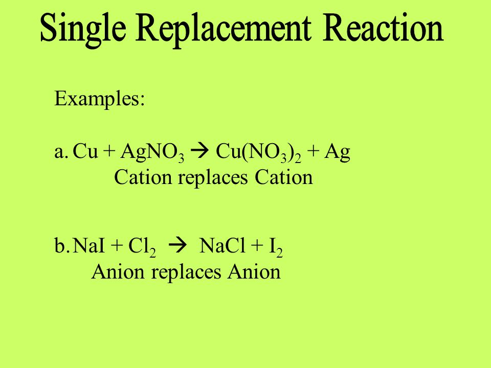 Reactivity series definition
