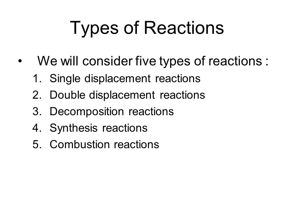 Classifying Chemical Reactions ppt download – Synthesis and Decomposition Reactions Worksheet