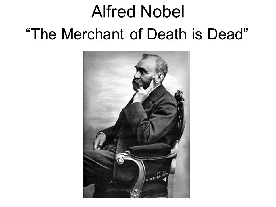The Merchant of Death is Dead