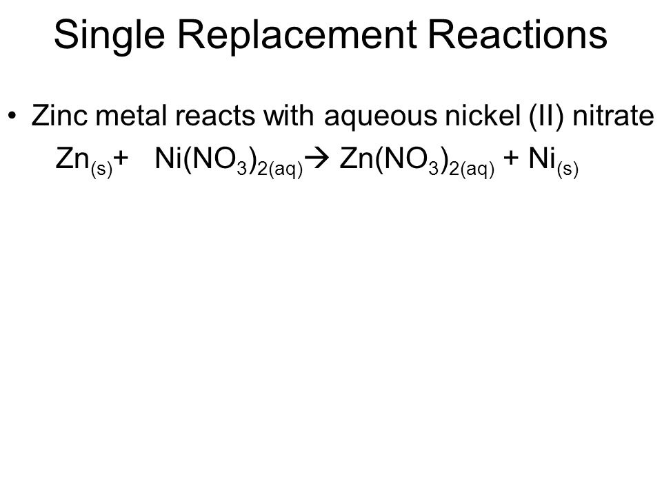 Single Replacement Reaction Worksheet Bhbrinfo – Single Replacement Reaction Worksheet