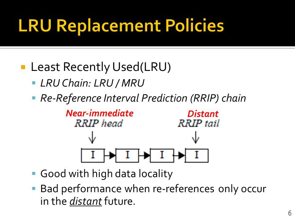 LRU Replacement Policies