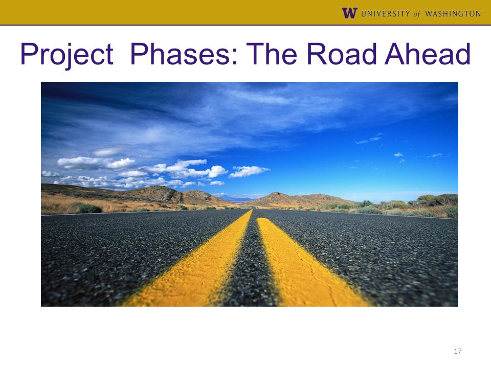 Project Phases: The Road Ahead