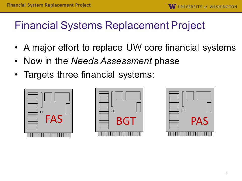 Financial Systems Replacement Project