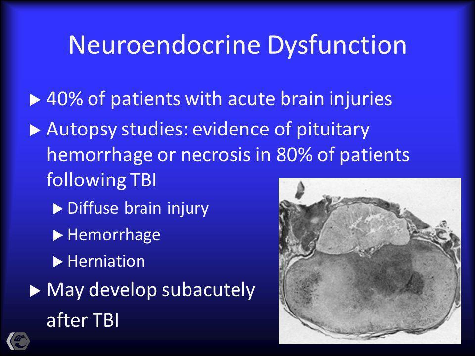 Neuroendocrine Dysfunction