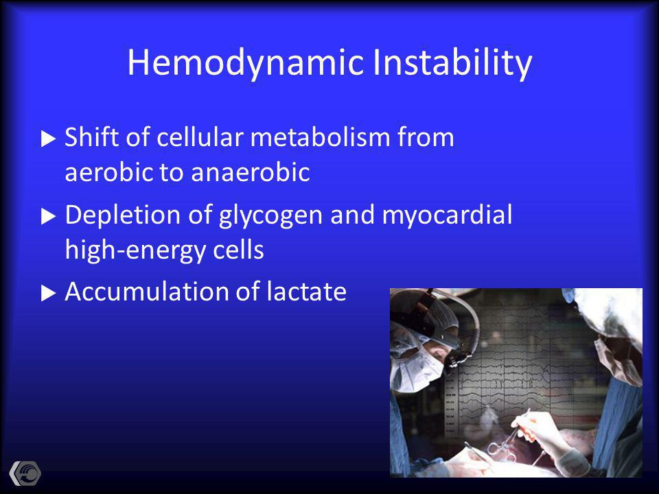 Hemodynamic Instability