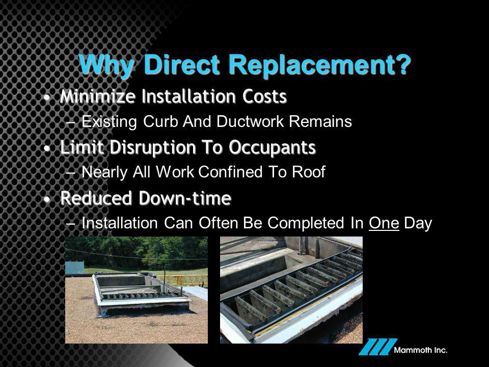 Why Direct Replacement