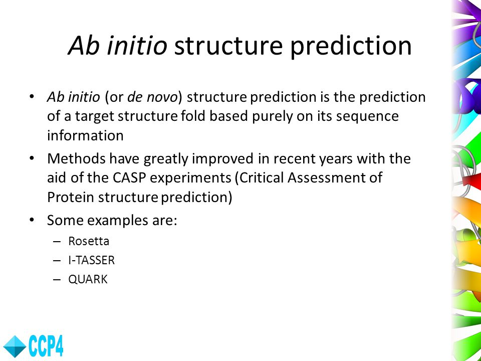 Ab initio structure prediction