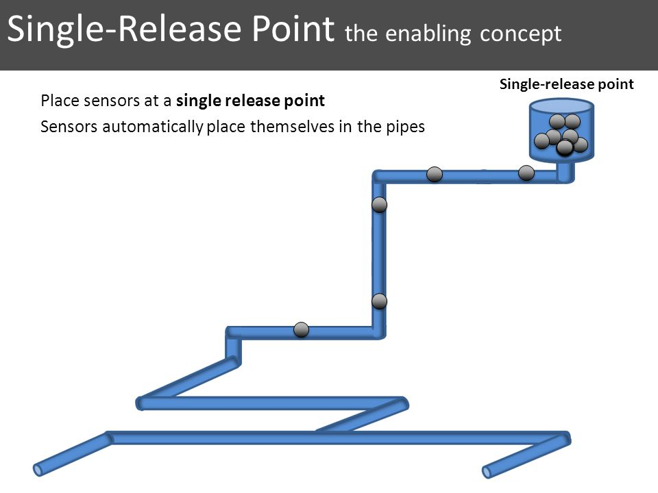 Single-Release Point the enabling concept