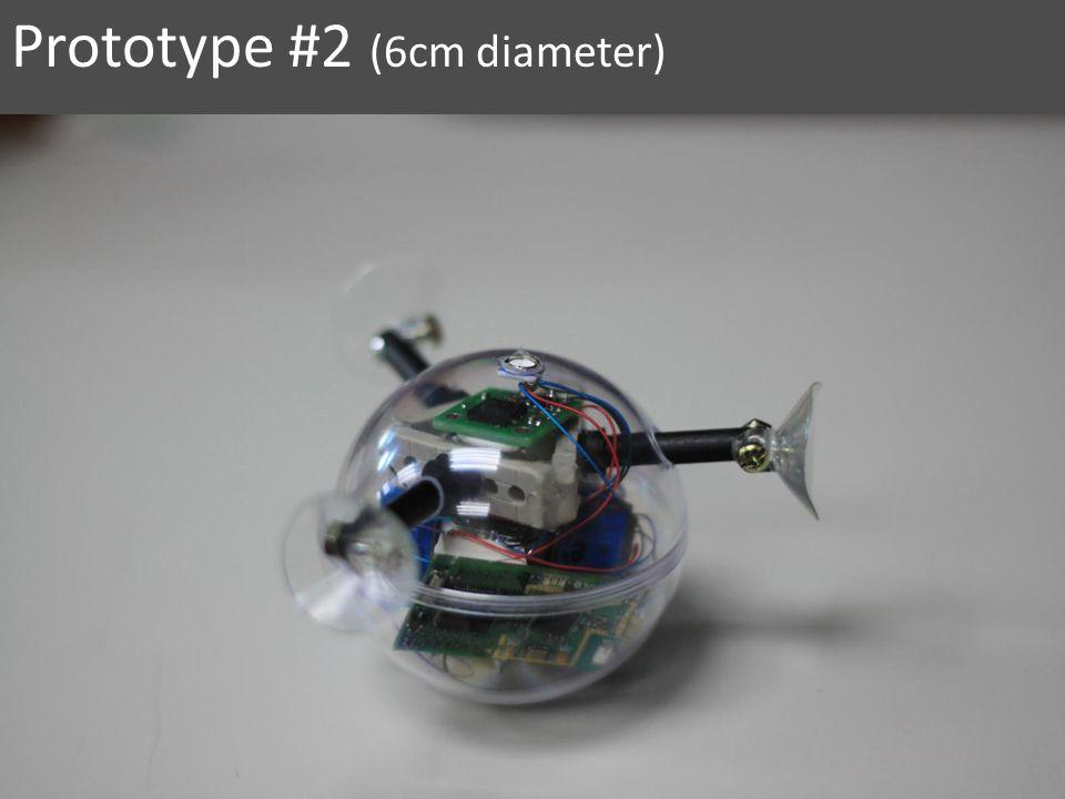 Prototype #2 (6cm diameter)