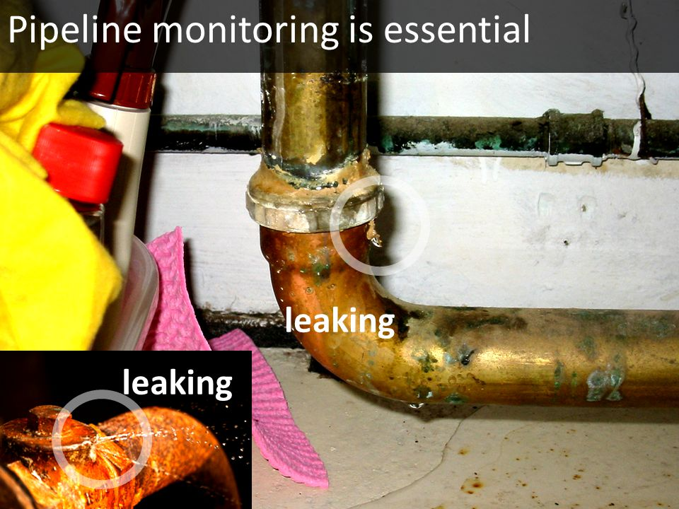 Pipeline monitoring is essential