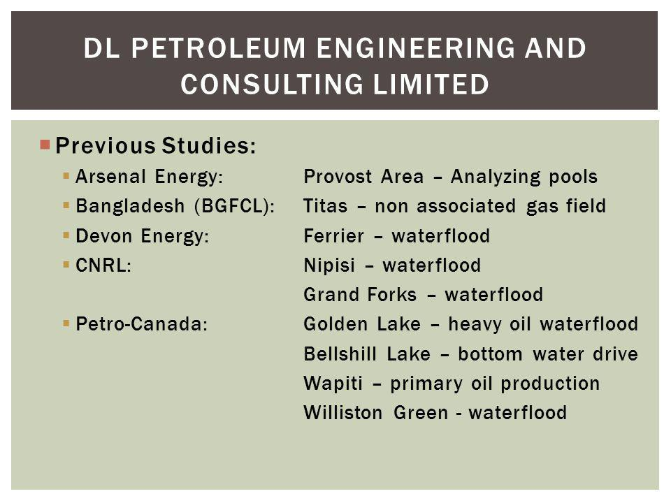 DL PETROLEUM ENGINEERING AND CONSULTING Limited