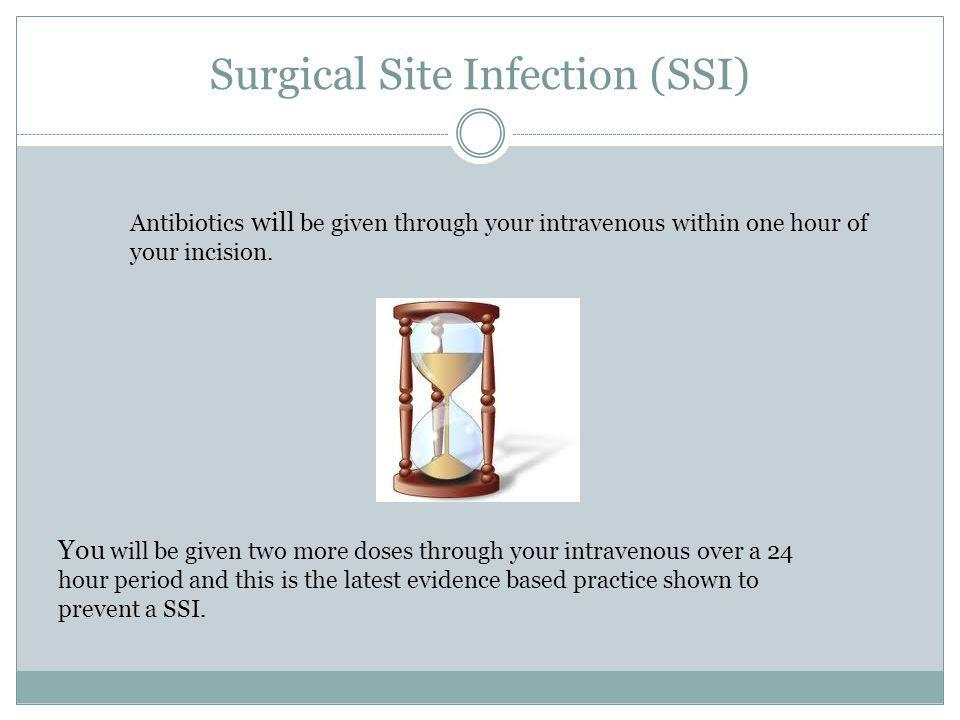 Surgical Site Infection (SSI)