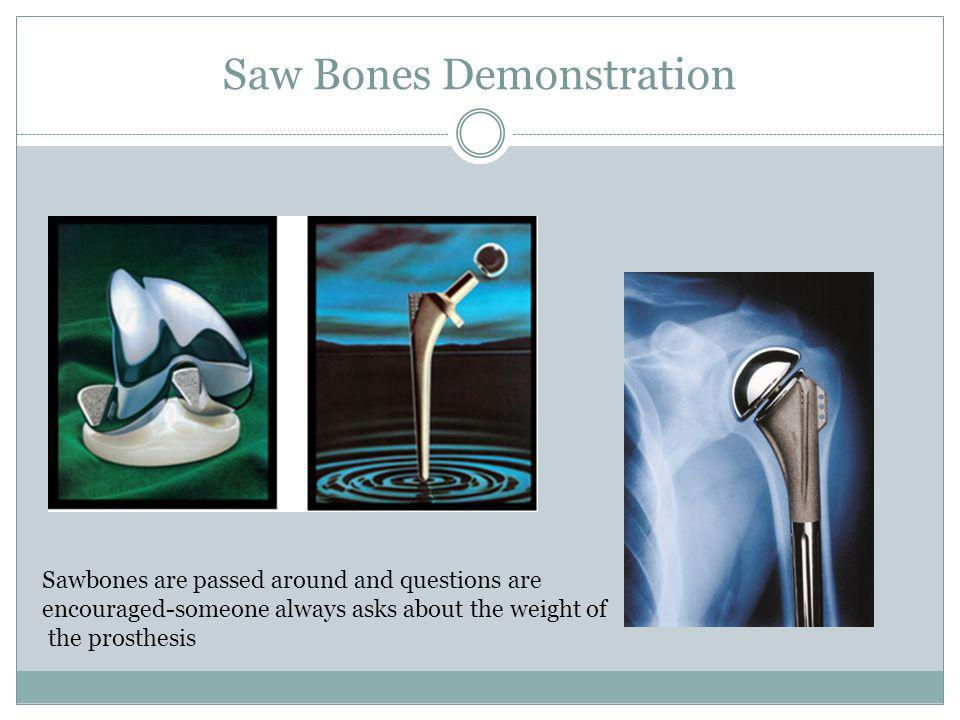 Saw Bones Demonstration