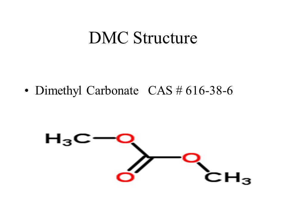 DMC Structure Dimethyl Carbonate CAS # 616-38-6