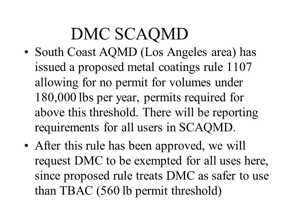 DMC SCAQMD