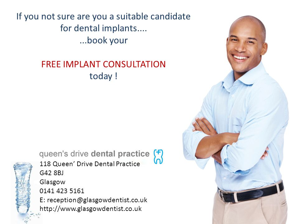 If you not sure are you a suitable candidate for dental implants....