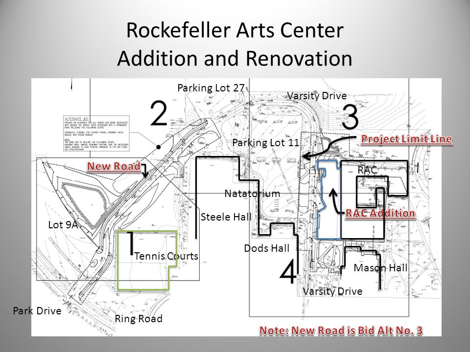 Rockefeller Arts Center Addition and Renovation