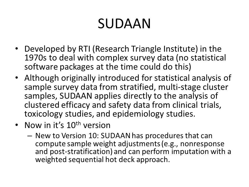 SUDAAN