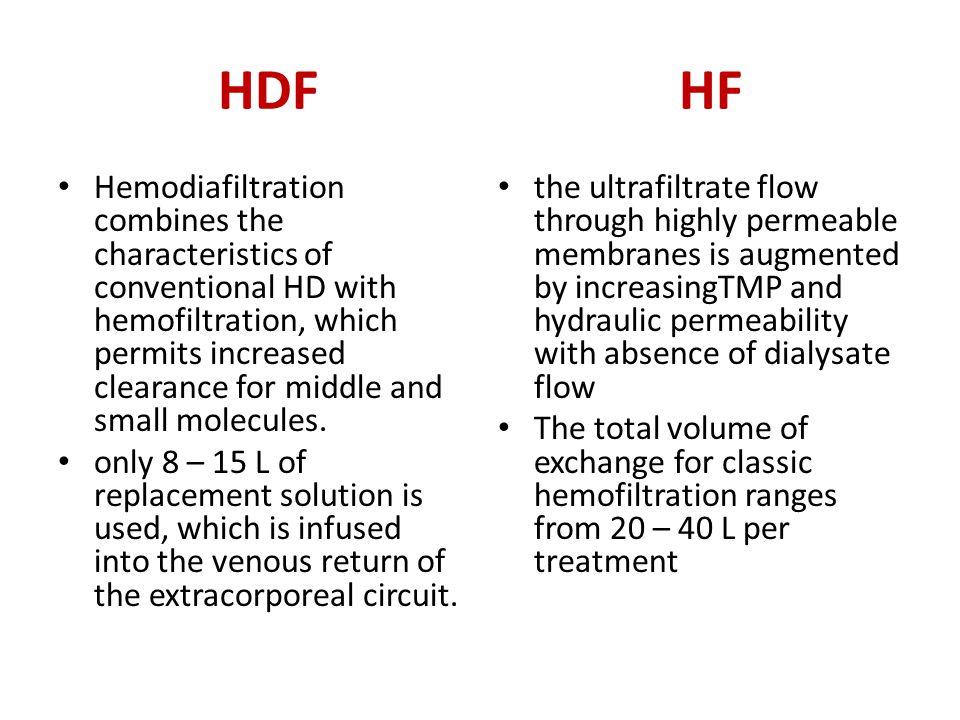 HDF HF