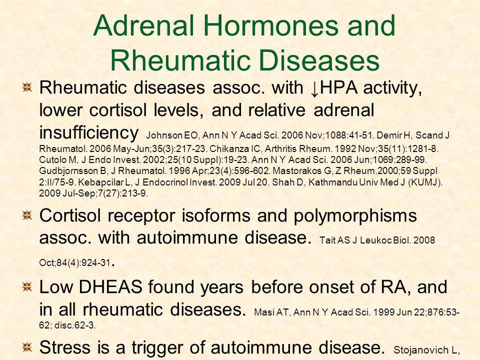 Adrenal Hormones and Rheumatic Diseases