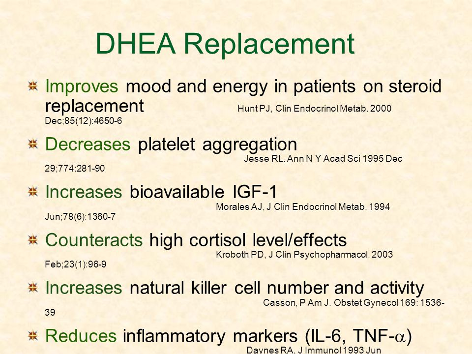 DHEA Replacement