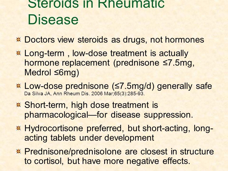 Steroids in Rheumatic Disease