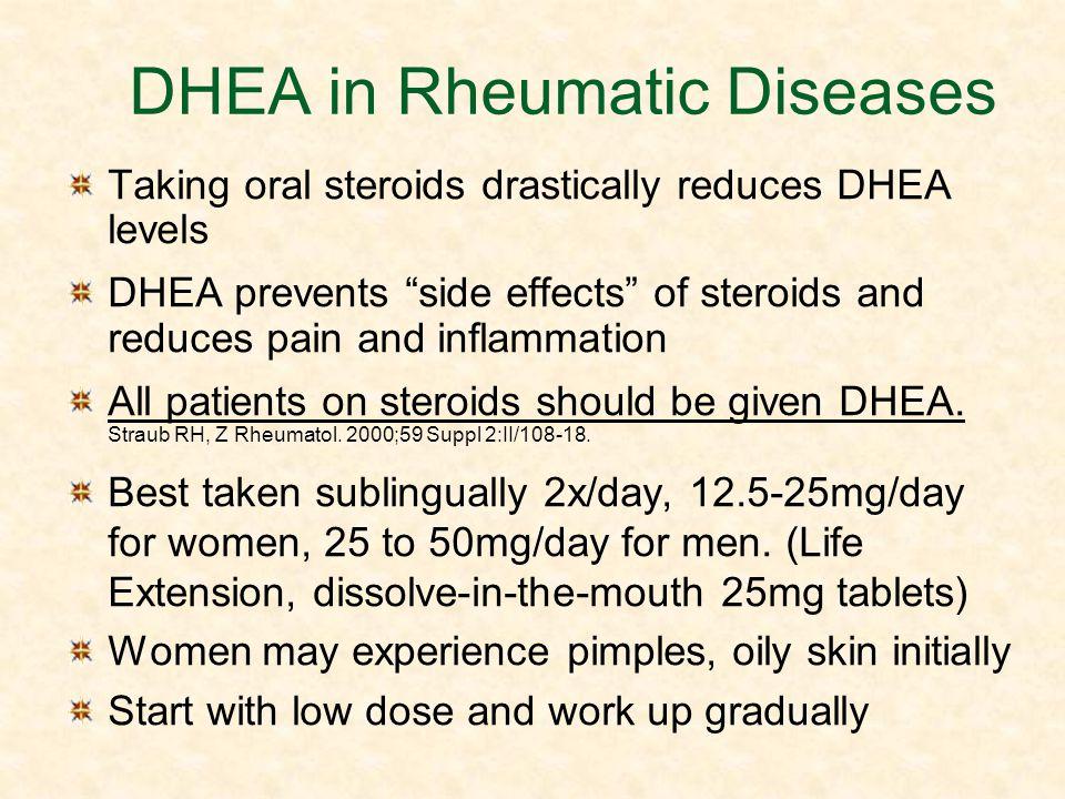 DHEA in Rheumatic Diseases