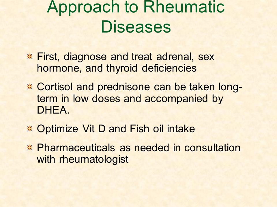 Approach to Rheumatic Diseases