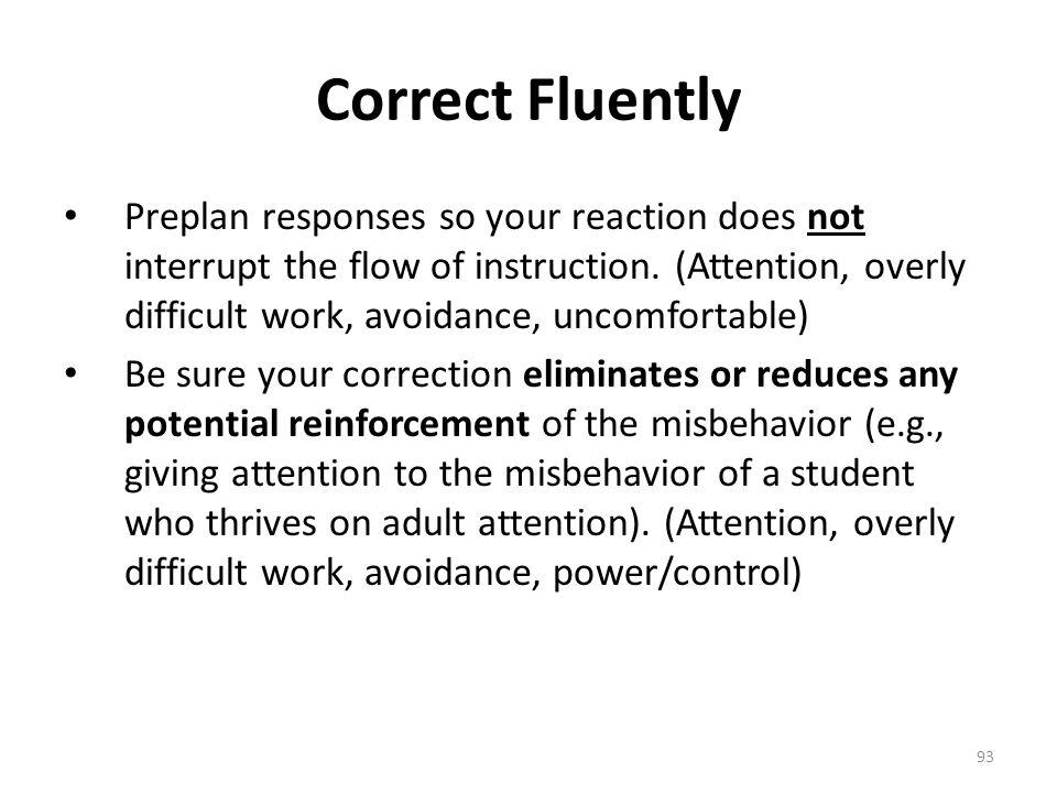 Correct Fluently