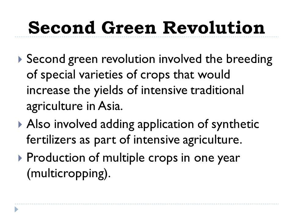 Second Green Revolution
