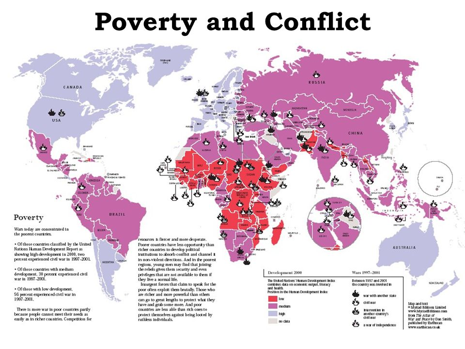 Poverty and Conflict