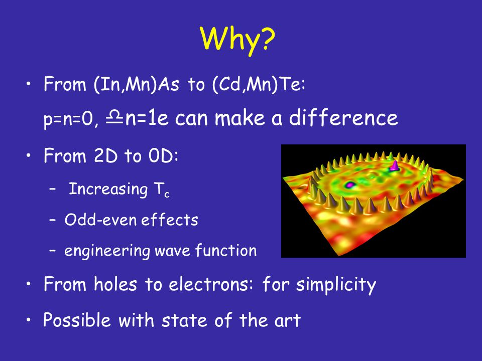 Why From (In,Mn)As to (Cd,Mn)Te: p=n=0, n=1e can make a difference