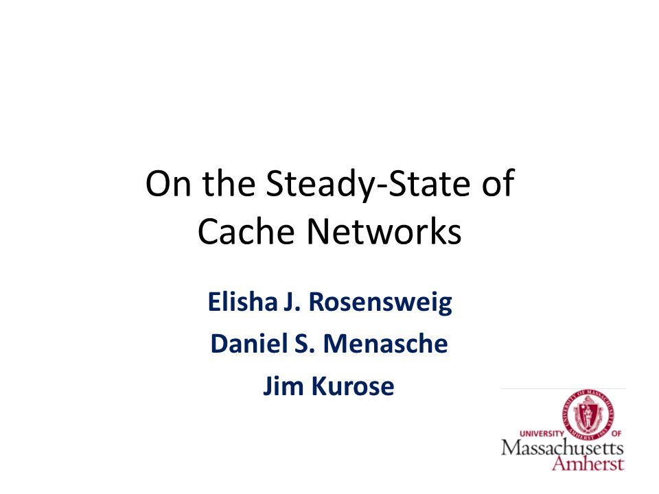 On the Steady-State of Cache Networks