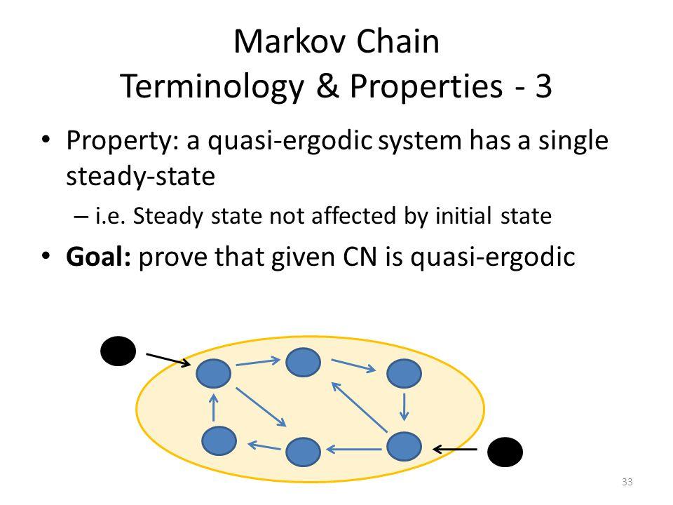 Markov Chain Terminology & Properties - 3